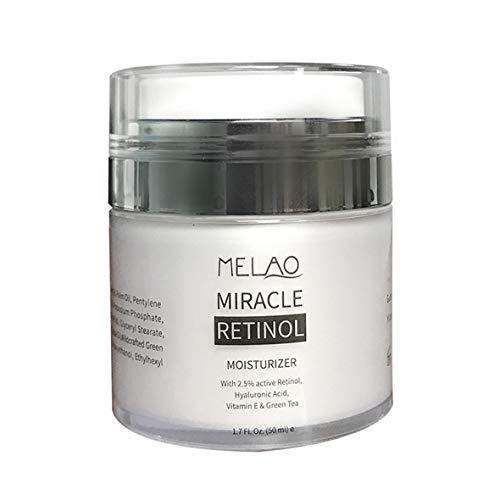 Heaviesk Retinol Feuchtigkeitscreme Anti-Aging-Formel reduziert Falten, feine Linien Beste Tages- und Nacht-Retinol-Creme 1,7 FL.O