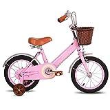 Bueuwe Kinderfahrrad Jungen Mädchen 2-12 Jahren Freestyle Fahrrad 12 14 16 18 Zoll Stützräder...