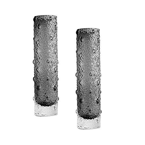jarrones de cristal florero cristal Florero De Flores De Vidrio Florero De Vidrio De Cilindro Alto Transparente Nórdico Redondo For Decoración De Hogar Y Oficina Boda De Cumpleaños jarron cristal bote