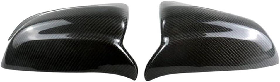 SAXTZDS Low price Car Rearview Mirror Cover Tucson Mall Rea Cap Carbon Reversing Fiber