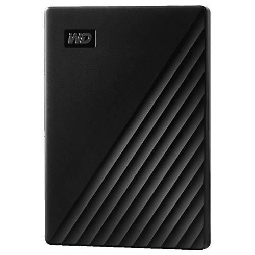 WD My Passport Disco duro portátil con protección por contraseña y software de copia de seguridad automática, compatible con PC, Xbox y PS4, 2TB, Negro