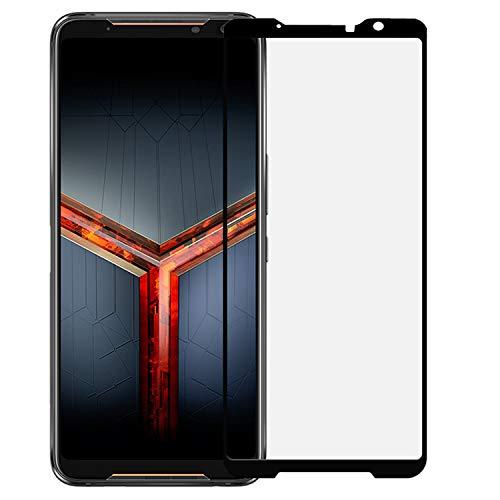 ZS660KL vidro temperado fosco, pacote com 2 películas protetoras de tela de vidro temperado antirreflexo para ASUS ROG Phone 2 ZS660KL preto