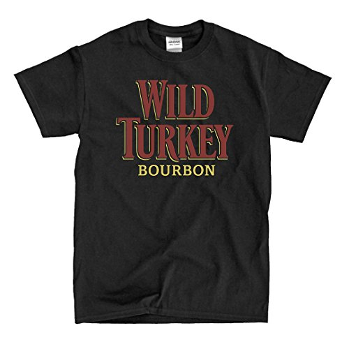WILD TURKEY Logo - Black Shirt (4XL)