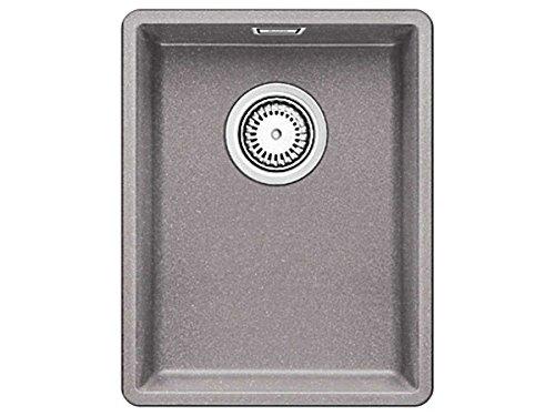 Blanco linea d'azione 320-F Alumetallic GRANIT-acciaio inox lavabile in lavastoviglie e piatto piccolo piatto l'incasso
