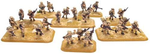 Flames Of War British Motor Platoon (8th Army) by Flames of War