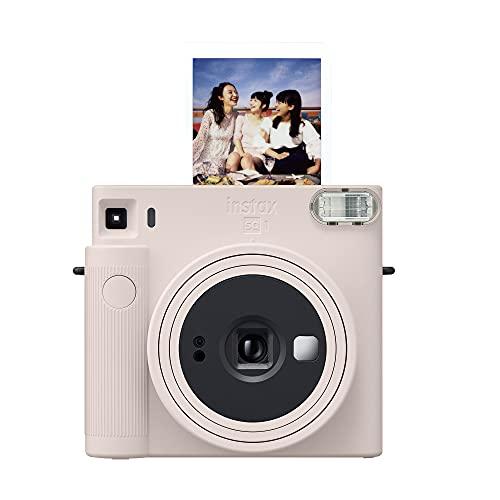 Fujifilm Instax Square SQ1 Instant Camera- Chalk White (16670522)
