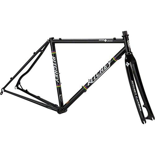 Ritchey Swiss Cross Cuadro de ciclocross, Hombre, Negro, 57 cm
