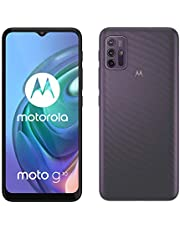 "Motorola moto g 10 (quad camera 48 MP, batteria 5000 mAH, 4/128 GB, Display 6.5"" Max Vision, NFC, Dual SIM, Android 11), Aurora Grey, cover inclusa"