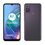 Motorola moto g10 (6,5'-Display, 48-MP-Kamera, 4/64 GB, 5000-mAh, Dual-SIM, Android 11) Aurora Grey,...