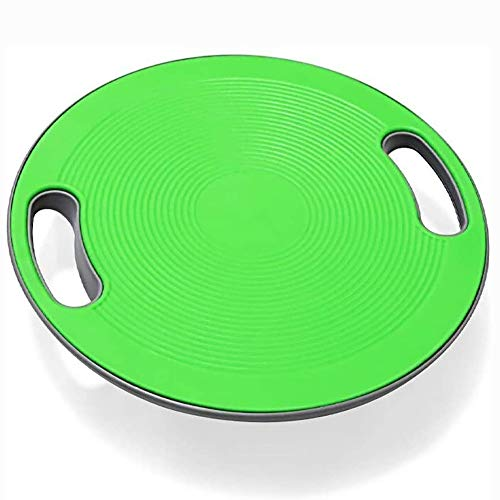 JKLL Balance Teller, Wobble Balance High-Intensity Training Balance Board Home Fitness Koordination Reha-Training Pedal Yoga, Rot (Color : B)