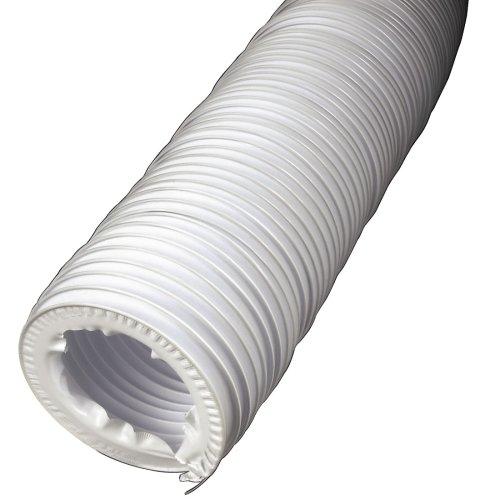 Xavax Tuyau d'évacuation d'air (pour sèche-linge, diamètre intérieur 10,2 cm, longueur 12 m) Blanc