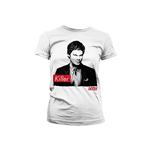 Dexter - Killer dames T-shirt wit - Televisie merchandise