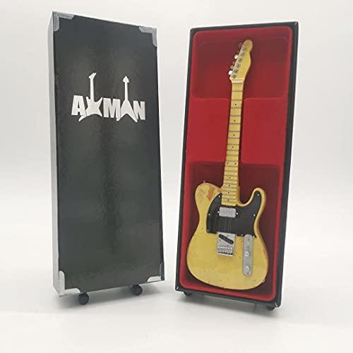 Keith Richards (The Rolling Stones) – Miniatur-Gitarren-Nachbildung