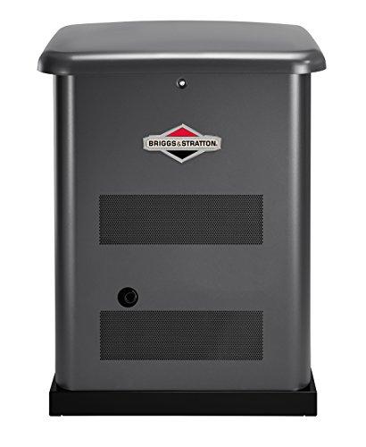 powerful Briggs & Stratton 40375 10 kW Standby Generator, Gray