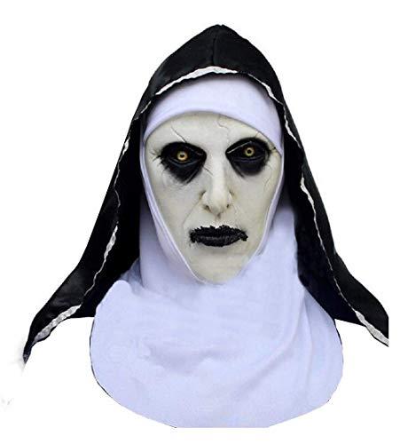 KIRALOVE Máscara - Monja asesina - la Monja - Hermana -