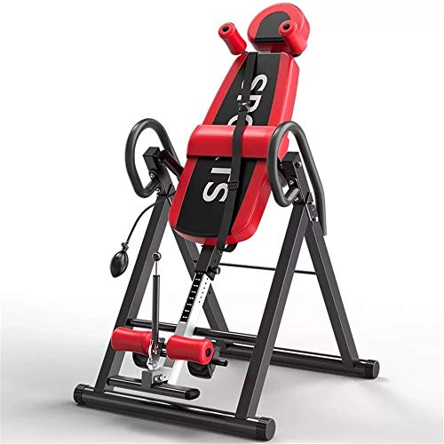 Learn More About Inversion Equipment Foldable Inverted Machine Stretching Machine for Home Gym Gravi...