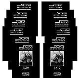 Studio 500, 8x10 The Original Slim Photo and Document Frames, Tempered Glass, Black, 12P