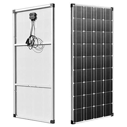 XINPUGUANG Panneau solaire 100W Watts 18V Module photovoltaïque monocristallin pour caravane, bateau, voiture, maison, chargement de batterie 12v