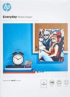 Hp Everyday Photo Paper Q2510A - Papel de fotografía brillante, A4 (210 X 297 mm), 100 hojas (B00014SKOI) | Amazon price tracker / tracking, Amazon price history charts, Amazon price watches, Amazon price drop alerts