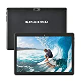 "Tablet KISEDAR Android 10.0 10.1 ""PC4GB RAM 64GB Tablet Tablet sbloccato Quad Core, adatto per telefono cellulare 3G, slot per scheda SIM doppia fotocamera, Bluetooth, GPS, WiFi ..."