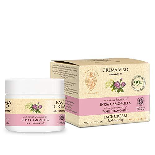 La Florentina Crema Viso Rosa & Camomilla - 50 ml