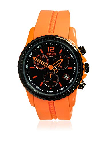 Munich Reloj Analógico para Unisex Adultos de Cuarzo con Correa en Silicona MU+101.5A