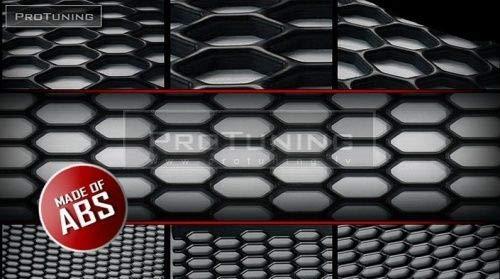 Universeel gaas Honing Kam (1 stk) 40cm x 30cm Zwart - ABS
