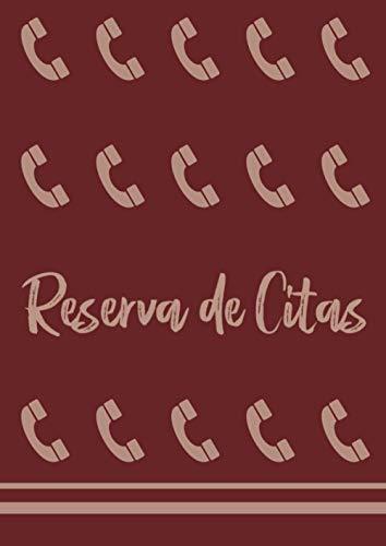 RESERVA DE CITAS: Libro de reservas de hora | Para anotar las citas de los clientes