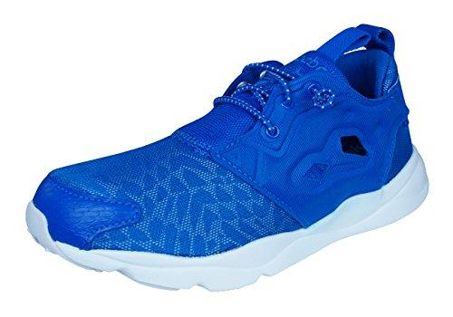 Reebok Classic Furylite Contemporary Zapatos Corrientes de Las mujeres-Blue-38