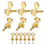 Clavijas de afinación de cabezales de máquina Clavijas de afinación de cuerdas Clavijas de afinación para guitarra folk o eléctrica