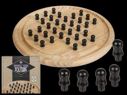 Out of the blue Holz Brettspiel Solitaire Circa 28,5cm