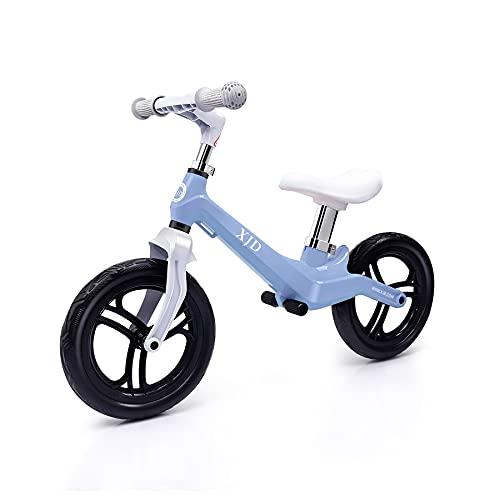 XJD ペダルなし自転車 幼児 子供用 キックバイク 超軽量 マグネシウム合金製 キックバイク トレーニングバ...