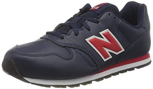 New Balance 373 YC373ENO Medium, Zapatillas para Chico, Blue (Pigment ENO), 37.5 EU