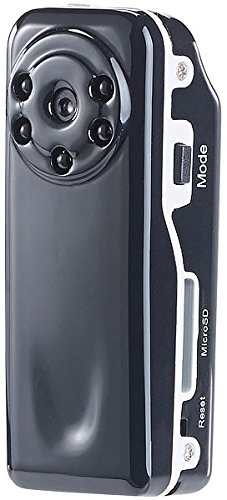 Somikon HD Kamera: Mini-Überwachungs-Cam Raptor-720.ir mit HD-Video & Infrarot-Nachtsicht (Mini-HD-Überwachungskamera)