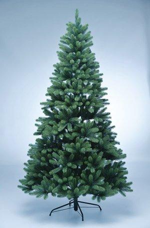 kunstpflanzen-discount.com PE Weihnachtsbaum 210cm mit 1156 Tips als Spritzguss Nadeln in B1 Weihnachtstanne künstlicher Tannenbaum Christbaum
