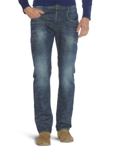 G-Star Raw - Mens New Radar Tapered Relaxed Jeans in Dark Aged, 29W x 32L, Dark Aged