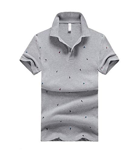 [ Smaids x Smile (スマイズ スマイル) ] ポロシャツ トップス 半袖 柄 ボタン 襟付 シンプル ゴルフウェア ボール 刺繍 ティー ミニ 裏パイル ブラ ローライズ 自由宣言 肌着メンズ ハーフパンツ コーディアル 服装 涼しい パン