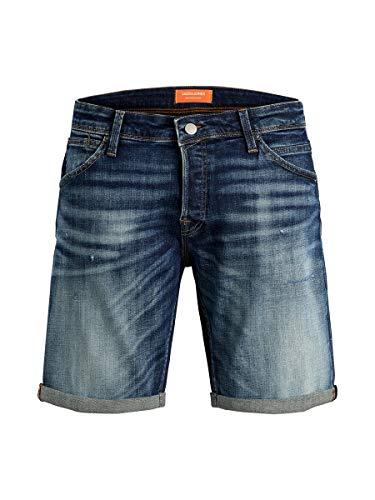 Jack & Jones Jjirick Jjfox Shorts JJ 154 50sps STS Pantalones Cortos, Azul (Blue Denim Blue Denim), 56 (Talla del Fabricante: X-Large) para Hombre