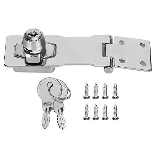 Cerradura de puerta con bloqueo antirrobo, fácil de instalar, ampliamente utilizado en armarios, congeladores, armarios y puertas