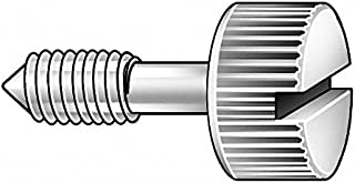 3//4 18-8 Stainless Steel Captive Panel Screw with 6-32 Thread Size and Smooth Head Type