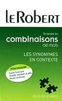 Dictionnaire Des Combinaisons De Mots (Usuels - PB)