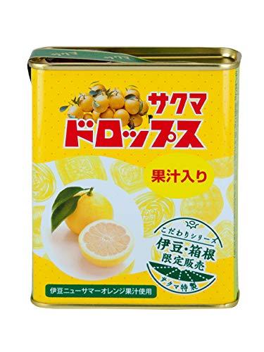 しいの食品 伊豆箱根ニューサマーオレンジドロップス 飴 キャンディ 限定 サクマ製菓 コラボ