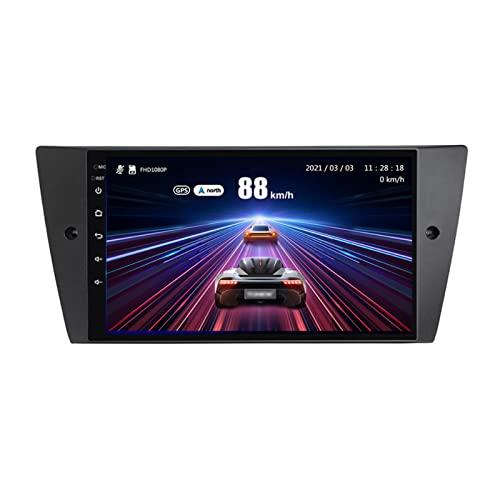 YLCCC coche Radio Stéreo Android 10.0 Sat nav Para E90 E91 2005-2013 GPS Navegación Multimedia Player Pantalla Táctil Soporte 4G+Wifi/SWC/Carplay/Bluetooth/DSP/enlace espejo,8 Core 4G+WiFi: 2+32GB