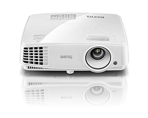 BenQ DLP Video Projector - XGA Display, 3300 Lumens, HDMI, 13,000:1 Contrast, 3D-Ready Projector (MX525A) (Renewed)