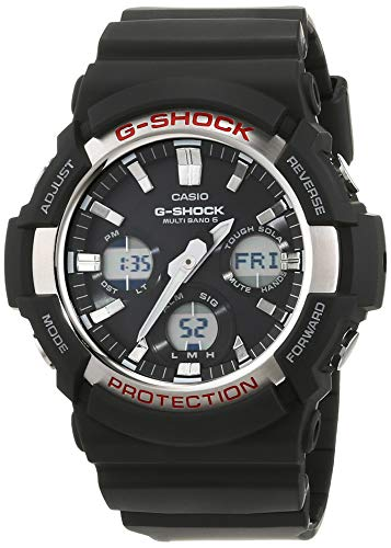 Casio G-Shock Solar- und Funkuhr GAW-100-1AER