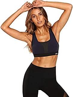 Lorna Jane Women's Fitter Sports Bra, Black/French Navy