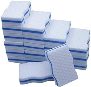 LTWHOME Magic Eraser Kitchen & Dish Scrubber Dual Sided Cleaning Melamine Foam M(4