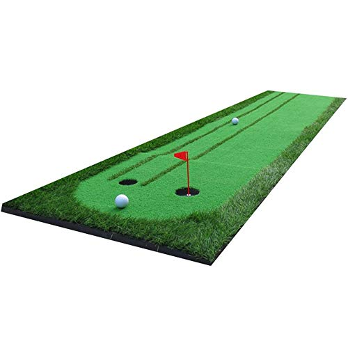 Fantastic Deal! Golf mat Golf Double Fairway Precision Putting Exerciser Beginner Green Putting Gree...