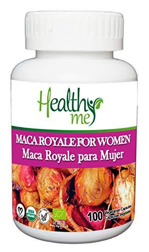 Maca Royale para Mujer en Cápsulas. Maca Peruana 100% natural. Ideal para la mujer. Energía y vitalidad para el deporte y la intimidad. Mejora los síntomas de la menopausia.