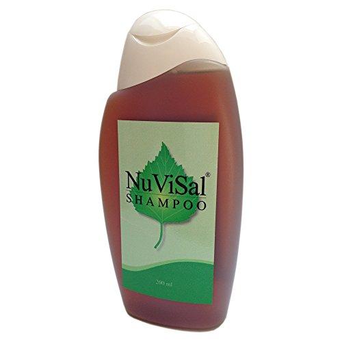 NuVisal Teershampoo Birkenteer Shampoo und Duschgel 1-er Pack (1 x 200 ml) für Kopfhaut und Schuppenflechte – Plaque Psoriasis Shampoo Naturkosmetik Finnland